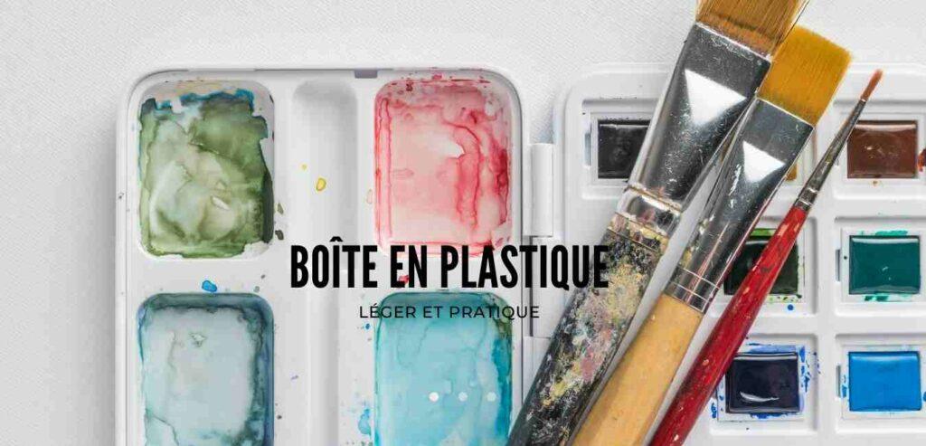 choix Boite Aquarelle Plastique